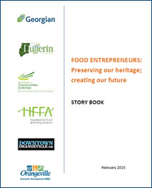 Food Entrepreneurs: Preserving Our Heritage; Creating Our Future.