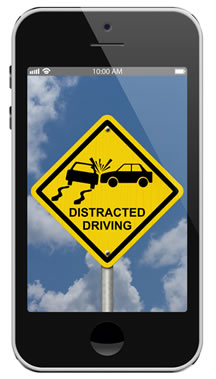 Be Vigilant about Distracted Driving