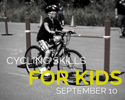 A Cycling Skills and Obstacle Course for Kids